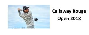 Callaway Open 2018